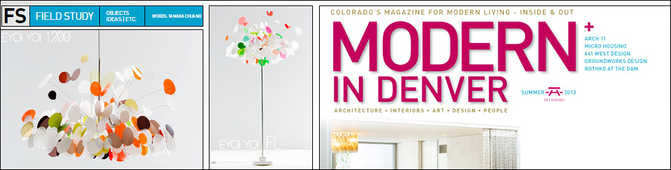 Modern In Denver featuring Marc Pascal pendant light