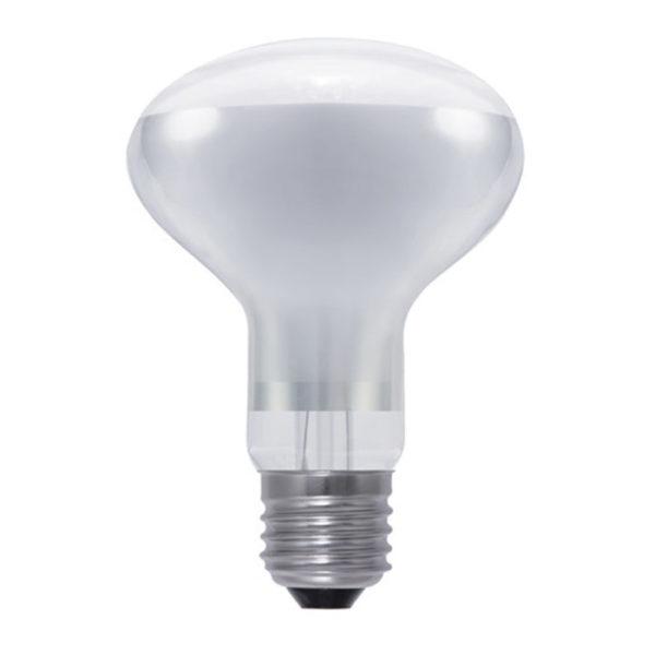 watt r80 led bulb warm white e27 3 5 watt dimmable clear fancy round. Black Bedroom Furniture Sets. Home Design Ideas